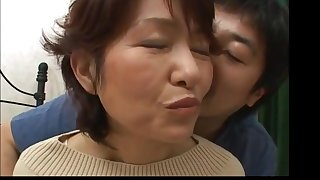 Amazing Asian Japanese Mom Home Coition Teen Dude
