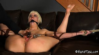 Mature blonde BBW slut not fair give fetish BDSM