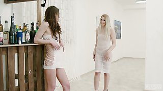 Fervent Hungarian lesbo Diane Christall is made for some ID